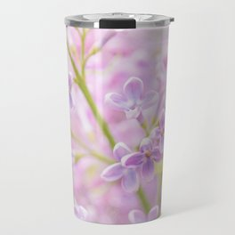 Lilac Flowers Mist Travel Mug