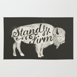 Stand Firm Rug