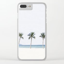 Palm trees 6 Clear iPhone Case