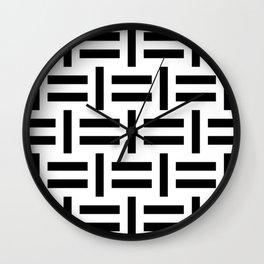 slovo B Wall Clock