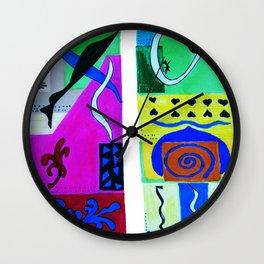 inspiration from Matisse . Gift Ideas ( https://society6.com/vickonskey/s?q=popular+prints ) Wall Clock