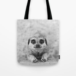 Smiling Meerkat Tote Bag
