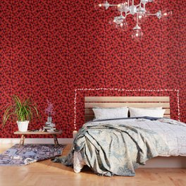 Fake wood pattern Wallpaper