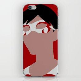 Flying Grayson Minimalism iPhone Skin
