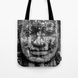 Cambodia. Angor Wat. Faces of Lokesvara Tote Bag