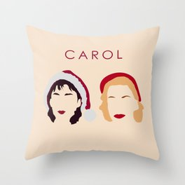 Carol and Therese Belivet Throw Pillow