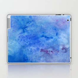Mariana Trench Watercolor Texture Laptop & iPad Skin