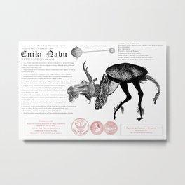 Eniki Nabu (Nabu sapiens) Metal Print