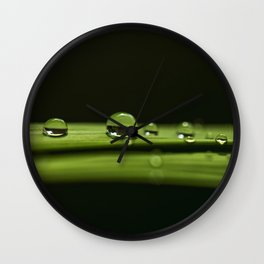 rain drops Wall Clock