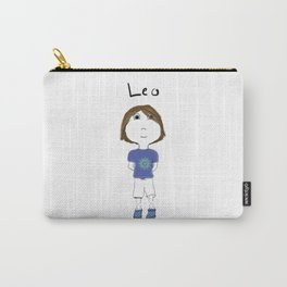 Personalized Art - Leo Carry-All Pouch