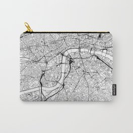 London White Map Carry-All Pouch