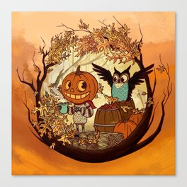 Fall Folklore Canvas Print
