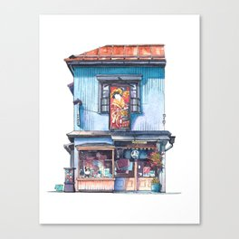 Tokyo Storefront #06 Canvas Print