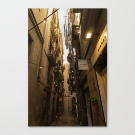 Streets of Spain Canvas Print
