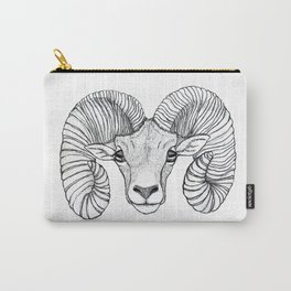 Ram Head Carry-All Pouch