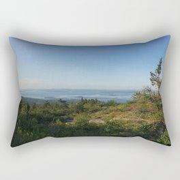 Cadillac Mountain Summit, Acadia National Park Rectangular Pillow