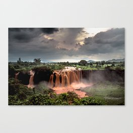 Nile Falls- Canvas Print