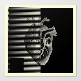 MOODULAB 002: Pulse / Heartbeat Canvas Print