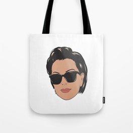 Kriss Face Tote Bag
