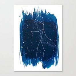 Virgo Zodiac Print Canvas Print