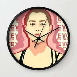 Vote For Our Lives Wall Clock