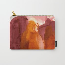 abstract painting X Carry-All Pouch