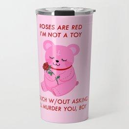 A Valentines Poem Travel Mug
