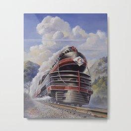 Lehigh Valley Railroad - The John Wilkes Metal Print