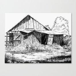 Wyoming Homesteadd Canvas Print