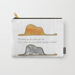 The Little Prince, a hat or a boa constrictor? Carry-All Pouch