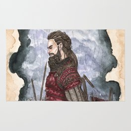 Tyr God of war and justice Rug