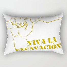 Viva la excavation #2 Rectangular Pillow