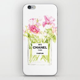 PERFUME FLORAL No.5 iPhone Skin