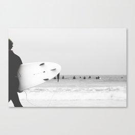 catch a wave II Canvas Print