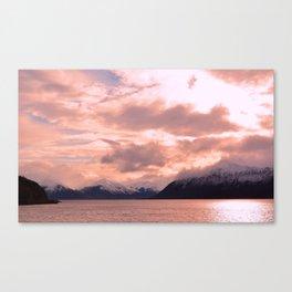Rose Quartz Over Hope Valley Canvas Print