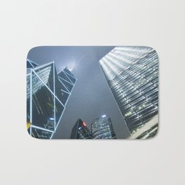 Hong Kong Night City Bath Mat