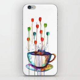 Coffee Splash iPhone Skin