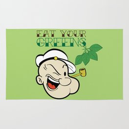 Eat Your Greens! Rug