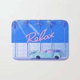 Relax (Blue) Bath Mat