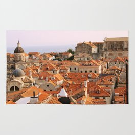 Dubrovnik, Croatia. Sunset. Rug