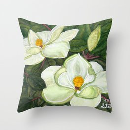Pride of Mississippi Throw Pillow