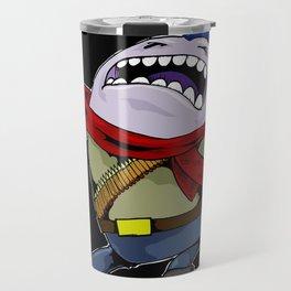 Angry illustrator Travel Mug