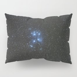 Peiades star cluster and a Orionid Meteor Pillow Sham