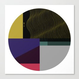 Segments #4 Canvas Print