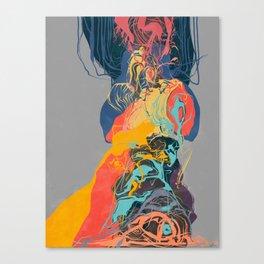 The slag precipice Canvas Print