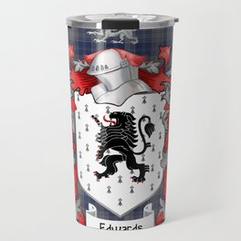 Edwards Crest and Tartan Travel Mug