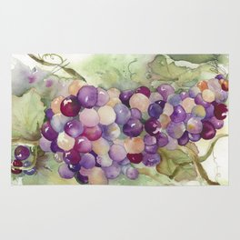 Wine Grapes 2 Rug