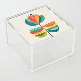 Whimsical Bloom Acrylic Box