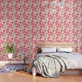 Watermelon slices pattern Wallpaper