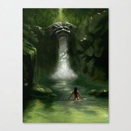 Lion Falls Canvas Print